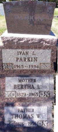 PARKIN, BERTHA - Pennington County, South Dakota   BERTHA PARKIN - South Dakota Gravestone Photos