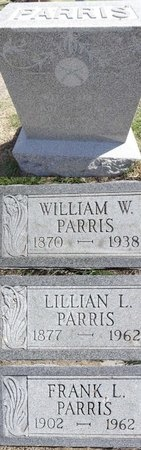 PARRIS, WILLIAM W. - Pennington County, South Dakota | WILLIAM W. PARRIS - South Dakota Gravestone Photos