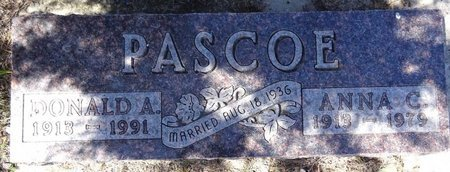 PASCOE, ANNA - Pennington County, South Dakota | ANNA PASCOE - South Dakota Gravestone Photos