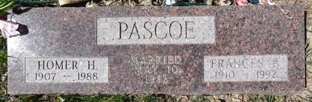 PASCOE, FRANCES - Pennington County, South Dakota | FRANCES PASCOE - South Dakota Gravestone Photos