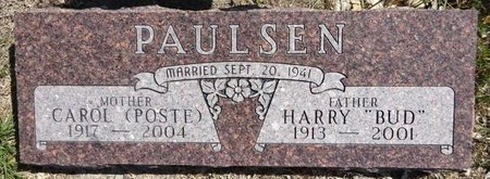 POSTE PAULSEN, CAROL - Pennington County, South Dakota | CAROL POSTE PAULSEN - South Dakota Gravestone Photos