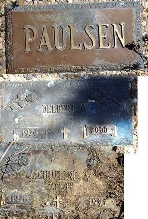 "SMOOT PAULSEN, JACQUELINE ""JACKIE"" - Pennington County, South Dakota | JACQUELINE ""JACKIE"" SMOOT PAULSEN - South Dakota Gravestone Photos"