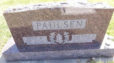 PAULSEN, RAYNOLD - Pennington County, South Dakota | RAYNOLD PAULSEN - South Dakota Gravestone Photos