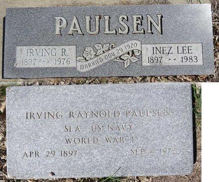PAULSEN, INEZ - Pennington County, South Dakota | INEZ PAULSEN - South Dakota Gravestone Photos