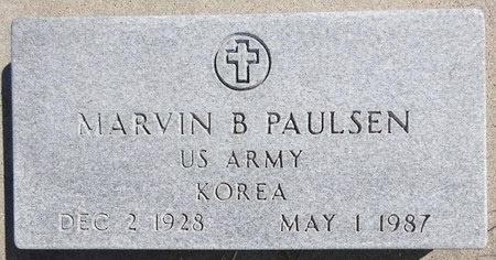 PAULSEN, MARVIN - Pennington County, South Dakota | MARVIN PAULSEN - South Dakota Gravestone Photos