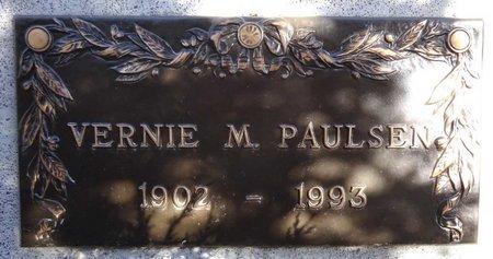 PAULSEN, VERNIE - Pennington County, South Dakota | VERNIE PAULSEN - South Dakota Gravestone Photos