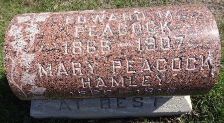 HAMLEY PEACOCK, MARY - Pennington County, South Dakota | MARY HAMLEY PEACOCK - South Dakota Gravestone Photos