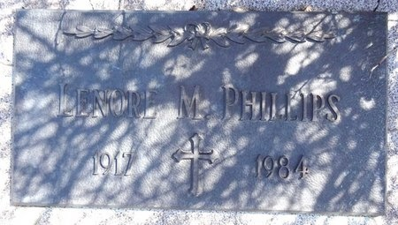 JOHNSON PHILLIPS, LENORE - Pennington County, South Dakota   LENORE JOHNSON PHILLIPS - South Dakota Gravestone Photos