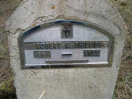 PHILLIPS, ROBERT K. - Pennington County, South Dakota | ROBERT K. PHILLIPS - South Dakota Gravestone Photos