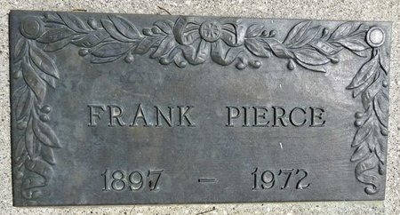 PIERCE, FRANK - Pennington County, South Dakota | FRANK PIERCE - South Dakota Gravestone Photos
