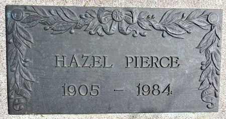 PIERCE, HAZEL - Pennington County, South Dakota | HAZEL PIERCE - South Dakota Gravestone Photos