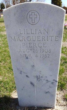 PIERCE, LILLIAN MARGUERITE - Pennington County, South Dakota | LILLIAN MARGUERITE PIERCE - South Dakota Gravestone Photos