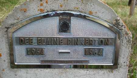 PINKERTON, DEE ELAINE - Pennington County, South Dakota   DEE ELAINE PINKERTON - South Dakota Gravestone Photos