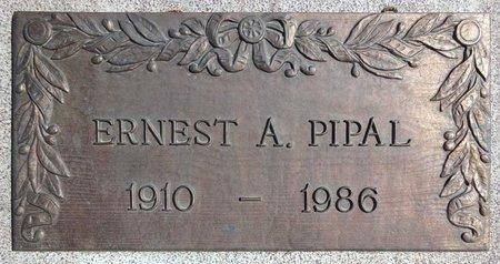 PIPAL, ERNEST - Pennington County, South Dakota | ERNEST PIPAL - South Dakota Gravestone Photos