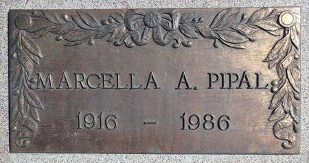 PIPAL, MARCELLA - Pennington County, South Dakota | MARCELLA PIPAL - South Dakota Gravestone Photos