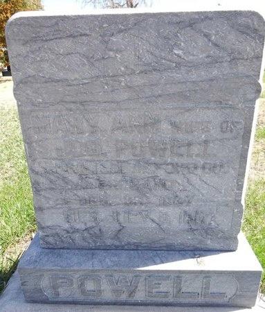 POWELL, MARY - Pennington County, South Dakota   MARY POWELL - South Dakota Gravestone Photos
