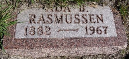 RASMUSSEN, ADA - Pennington County, South Dakota | ADA RASMUSSEN - South Dakota Gravestone Photos