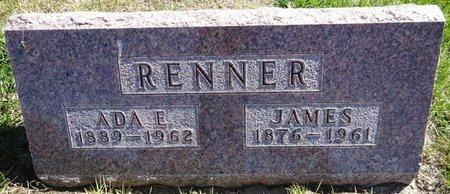 RENNER, JAMES - Pennington County, South Dakota | JAMES RENNER - South Dakota Gravestone Photos