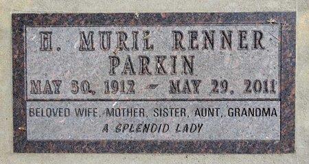 RENNER PARKIN, HAZEL MURIL - Pennington County, South Dakota | HAZEL MURIL RENNER PARKIN - South Dakota Gravestone Photos