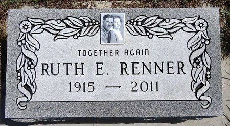 RENNER, RUTH - Pennington County, South Dakota | RUTH RENNER - South Dakota Gravestone Photos