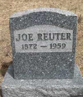 REUTER, JOE - Pennington County, South Dakota   JOE REUTER - South Dakota Gravestone Photos