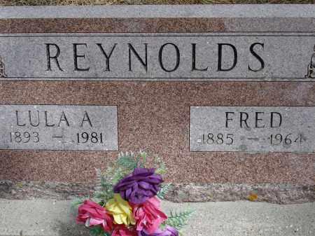 REYNOLDS, LULA A. - Pennington County, South Dakota | LULA A. REYNOLDS - South Dakota Gravestone Photos