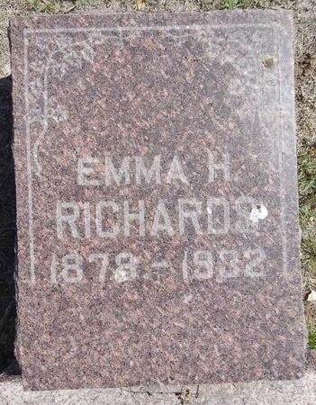 RICHARDS, EMMA - Pennington County, South Dakota | EMMA RICHARDS - South Dakota Gravestone Photos