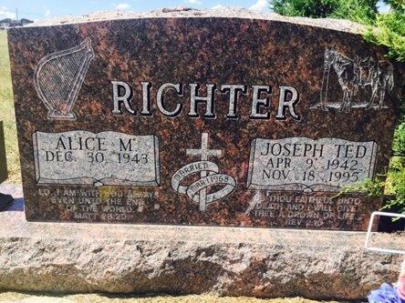 RICHTER, JOSEPH - Pennington County, South Dakota | JOSEPH RICHTER - South Dakota Gravestone Photos