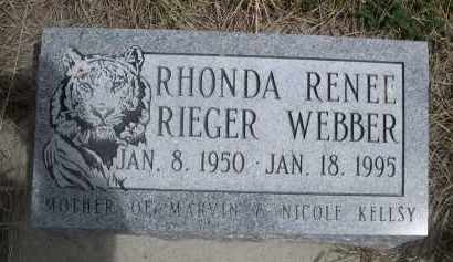 RIEGER, RHONDA RENEE - Pennington County, South Dakota | RHONDA RENEE RIEGER - South Dakota Gravestone Photos