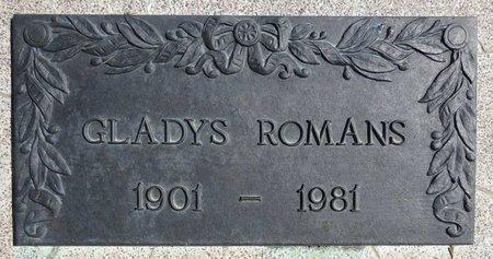 ROMANS, GLADYS - Pennington County, South Dakota | GLADYS ROMANS - South Dakota Gravestone Photos