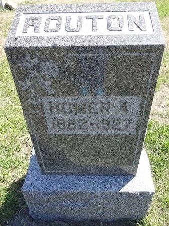 ROUTON, HOMER - Pennington County, South Dakota | HOMER ROUTON - South Dakota Gravestone Photos