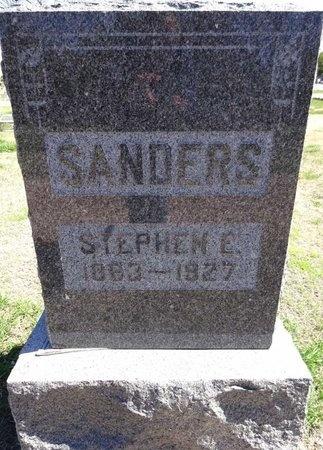 SANDERS, STEPHEN - Pennington County, South Dakota | STEPHEN SANDERS - South Dakota Gravestone Photos