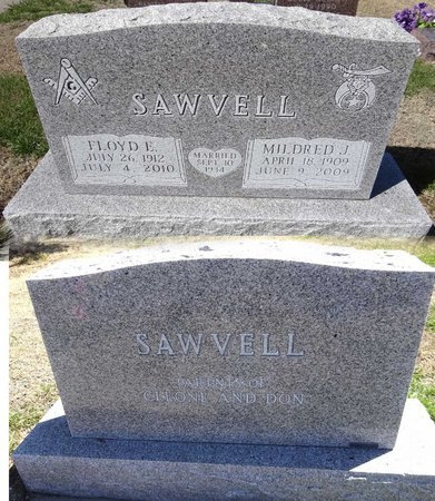 SAWVELL, FLOYD - Pennington County, South Dakota | FLOYD SAWVELL - South Dakota Gravestone Photos