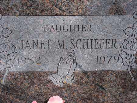 SCHIEFER, JANET M. - Pennington County, South Dakota | JANET M. SCHIEFER - South Dakota Gravestone Photos
