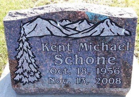 SCHONE, KENT MICHAEL - Pennington County, South Dakota | KENT MICHAEL SCHONE - South Dakota Gravestone Photos
