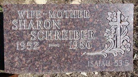 SCHREIBER, SHARON - Pennington County, South Dakota | SHARON SCHREIBER - South Dakota Gravestone Photos