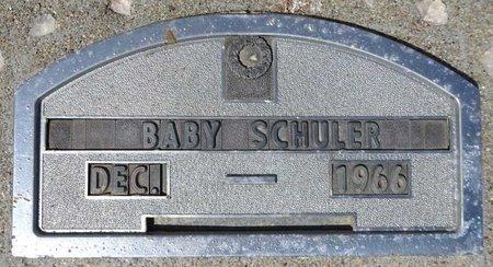 SCHULER, BABY - Pennington County, South Dakota | BABY SCHULER - South Dakota Gravestone Photos