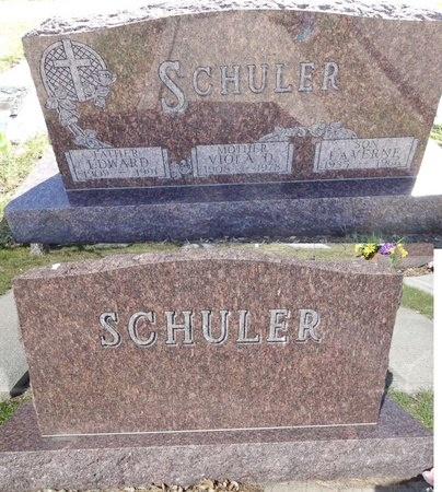 SCHULER, LAVERNE - Pennington County, South Dakota | LAVERNE SCHULER - South Dakota Gravestone Photos