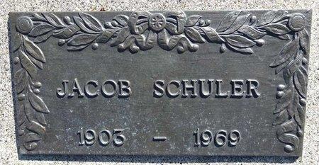 SCHULER, JACOB - Pennington County, South Dakota | JACOB SCHULER - South Dakota Gravestone Photos