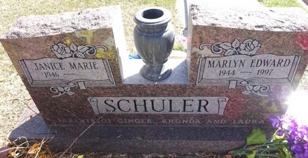 SCHULER, MARLYN - Pennington County, South Dakota | MARLYN SCHULER - South Dakota Gravestone Photos