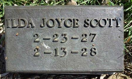SCOTT, ILDA JOYCE - Pennington County, South Dakota | ILDA JOYCE SCOTT - South Dakota Gravestone Photos
