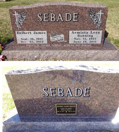 SEBADE, DELBERT JAMES - Pennington County, South Dakota | DELBERT JAMES SEBADE - South Dakota Gravestone Photos