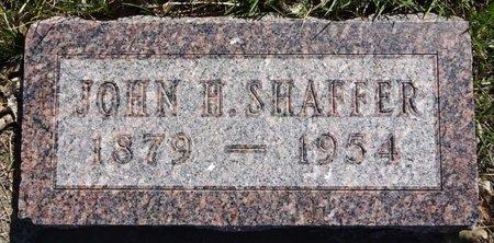 SHAFFER, JOHN - Pennington County, South Dakota | JOHN SHAFFER - South Dakota Gravestone Photos