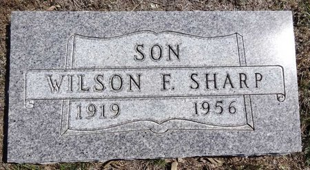 SHARP, WILSON - Pennington County, South Dakota | WILSON SHARP - South Dakota Gravestone Photos