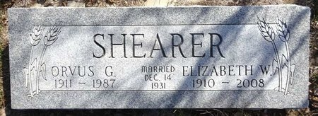 SHEARER, ORVUS G. - Pennington County, South Dakota | ORVUS G. SHEARER - South Dakota Gravestone Photos