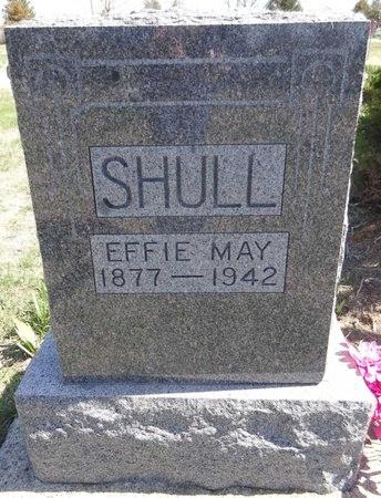 SHULL, EFFIE MAY - Pennington County, South Dakota | EFFIE MAY SHULL - South Dakota Gravestone Photos