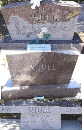 "ADAMS SHULL, IRENE ""DEAN"" - Pennington County, South Dakota 