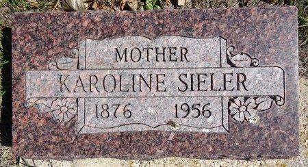 SIELER, KAROLINE - Pennington County, South Dakota | KAROLINE SIELER - South Dakota Gravestone Photos
