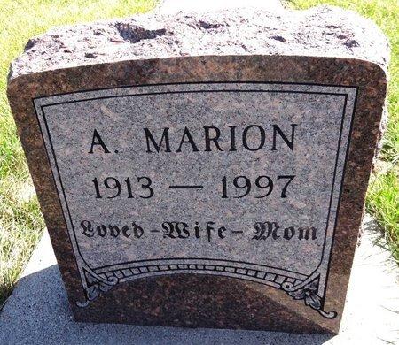 SIMS, ALMA MARION - Pennington County, South Dakota   ALMA MARION SIMS - South Dakota Gravestone Photos