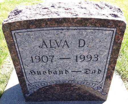SIMS, ALVA D. - Pennington County, South Dakota | ALVA D. SIMS - South Dakota Gravestone Photos
